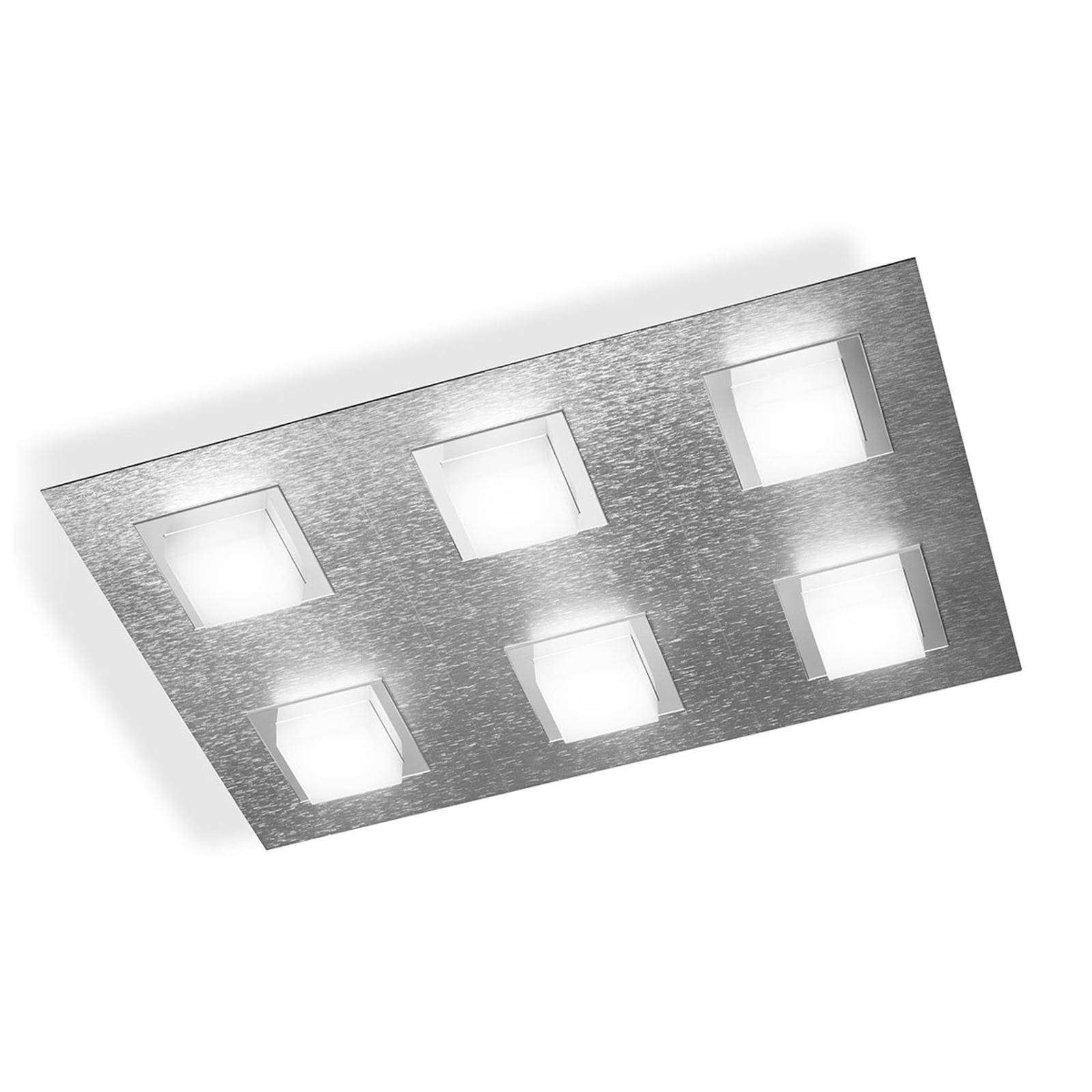 Produktové foto GROSSMANN GROSSMANN Basic LED stropní svítidlo, 6zdr hliník
