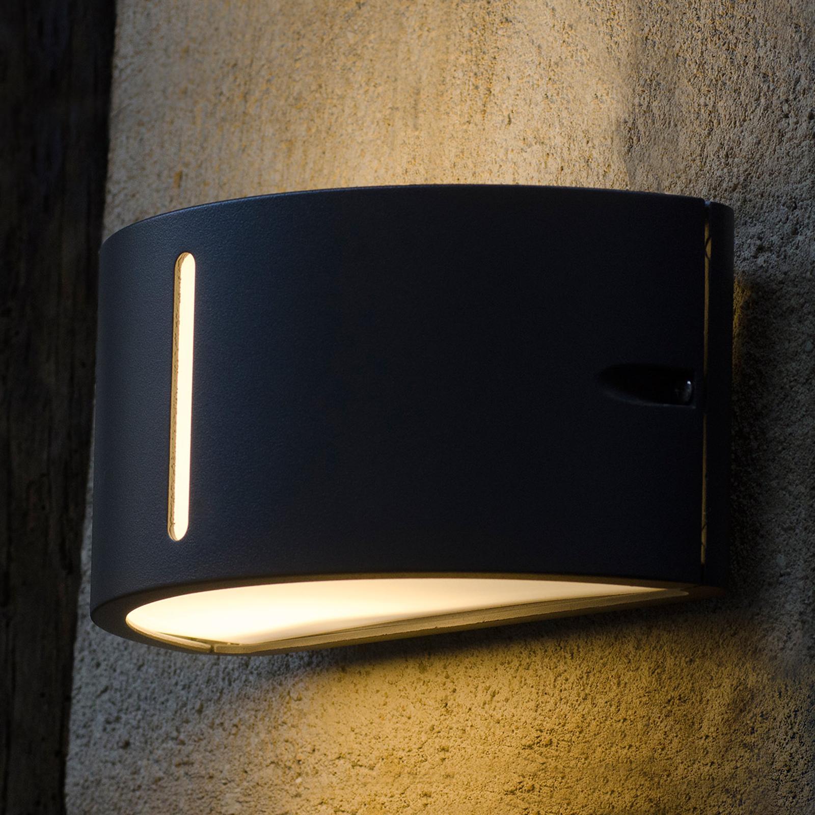 Moderné vonkajšie nástenné svietidlo BONN