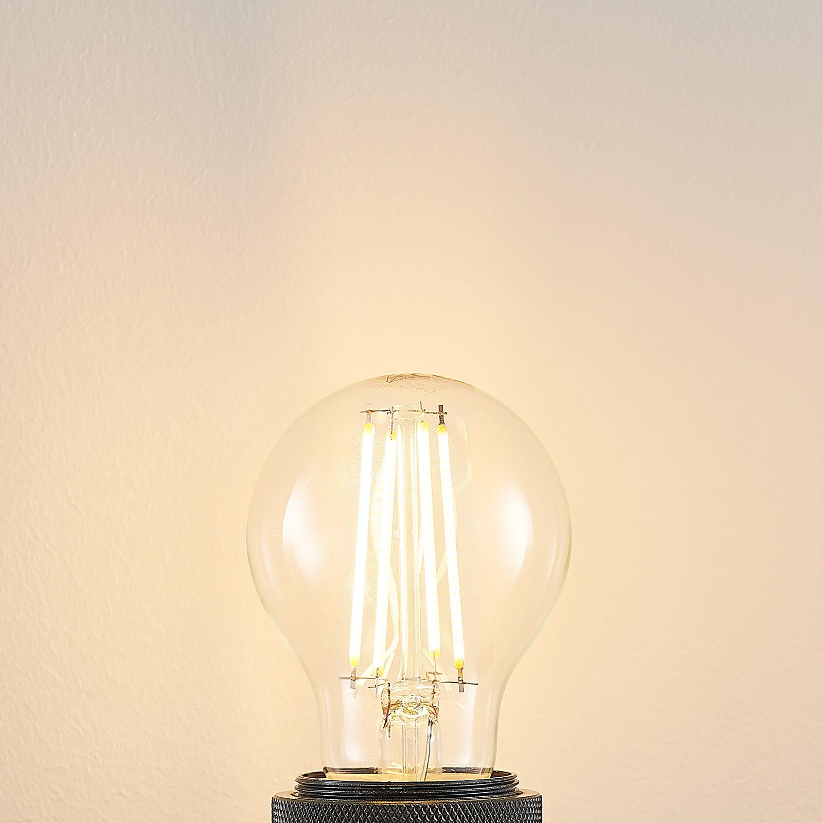LED-Lampe E27 A60 6,5W 2.700K klar 3-Step-Dimmer