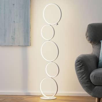 LED vloerlamp Vika met 3-stappen-touchdimmer