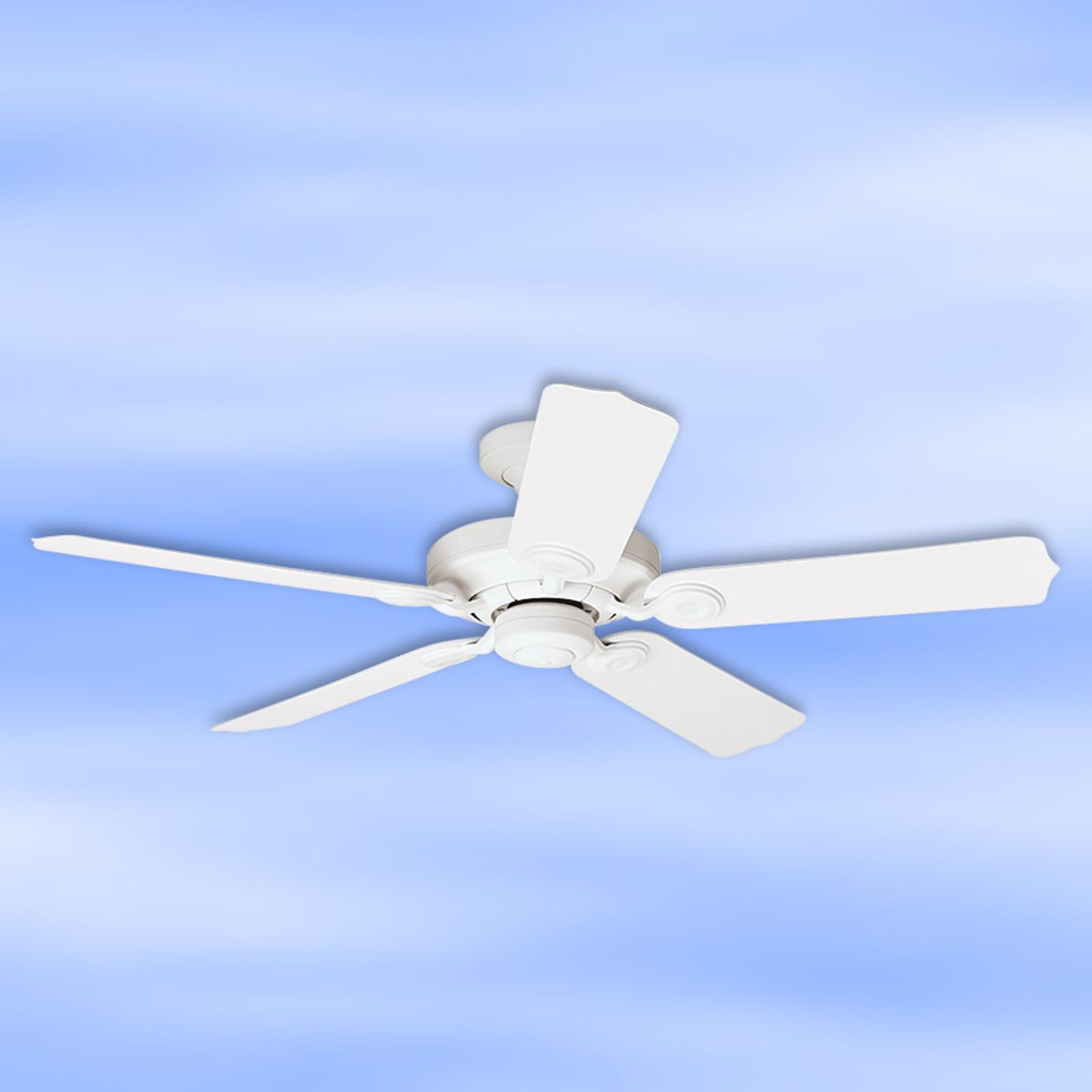 Biały wentylator sufitowy OUTDOOR ELEMENTS IP44
