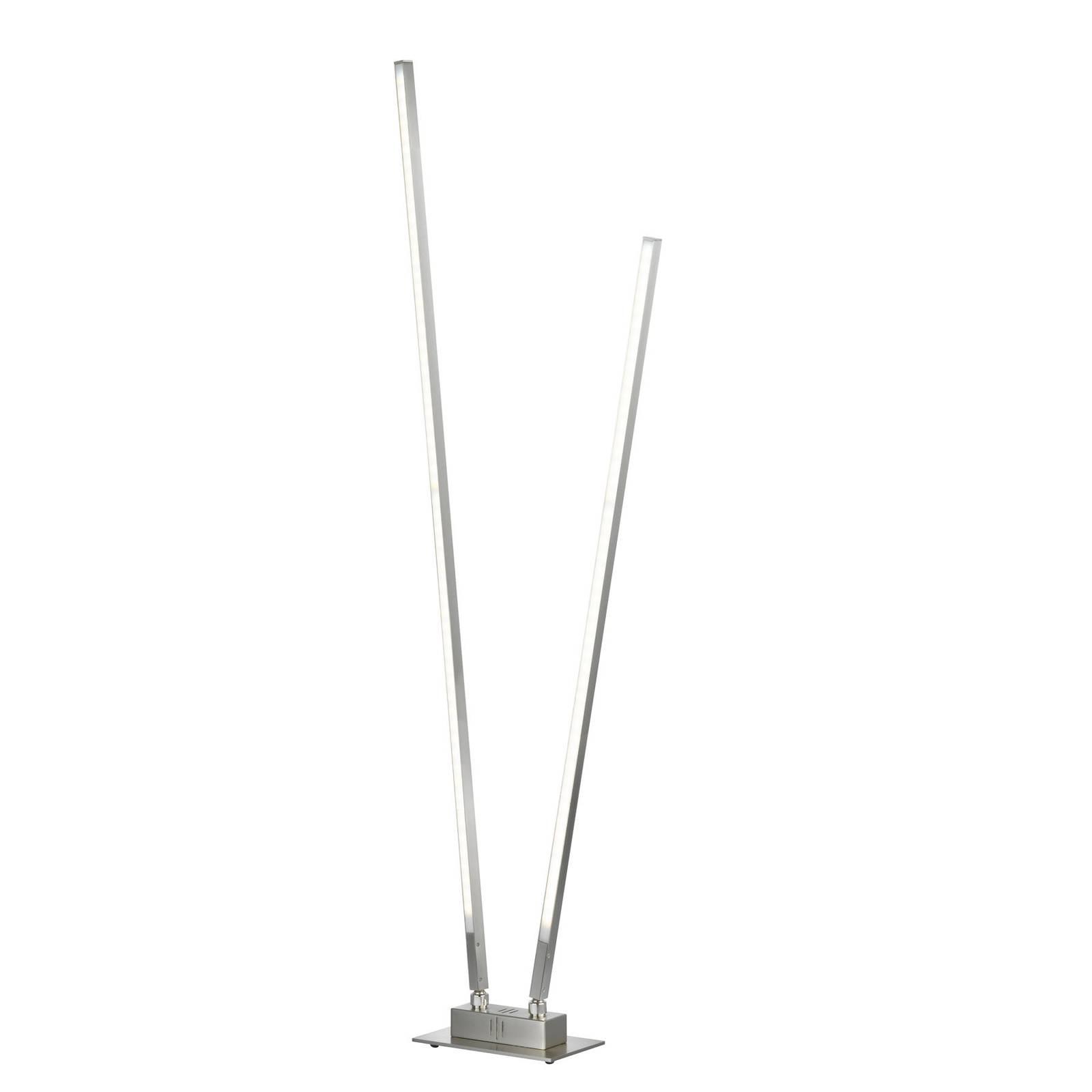LED-Stehleuchte Z-Carla, zweiflammig, Höhe 144 cm