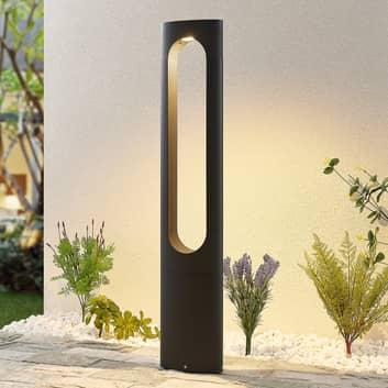 Lucande Fenti LED-gatelampe, 90 cm