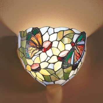 Lampa ścienna VIKTORIA w stylu Tiffany