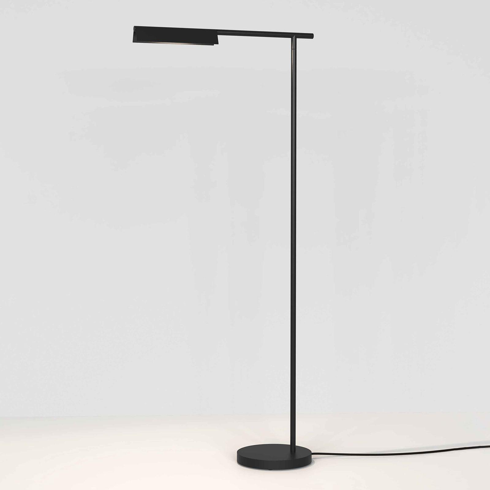 Astro Fold lampadaire LED noir mat