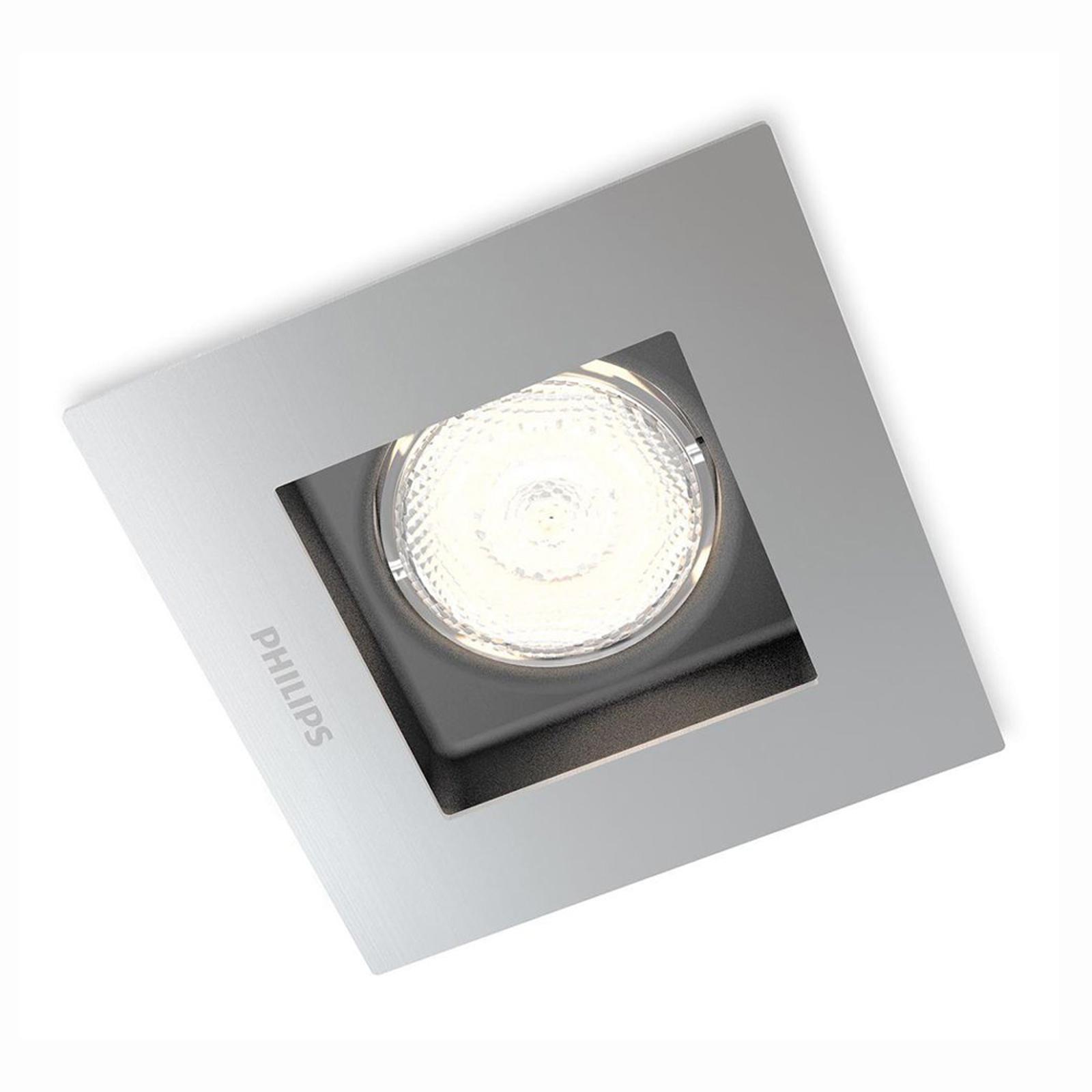 Spot encastrable LED Porrima carré