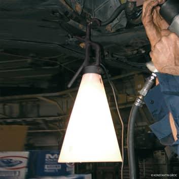 FLOS Mayday arbetslampa i svart