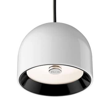 FLOS Wan S - bílá závěsná lampa