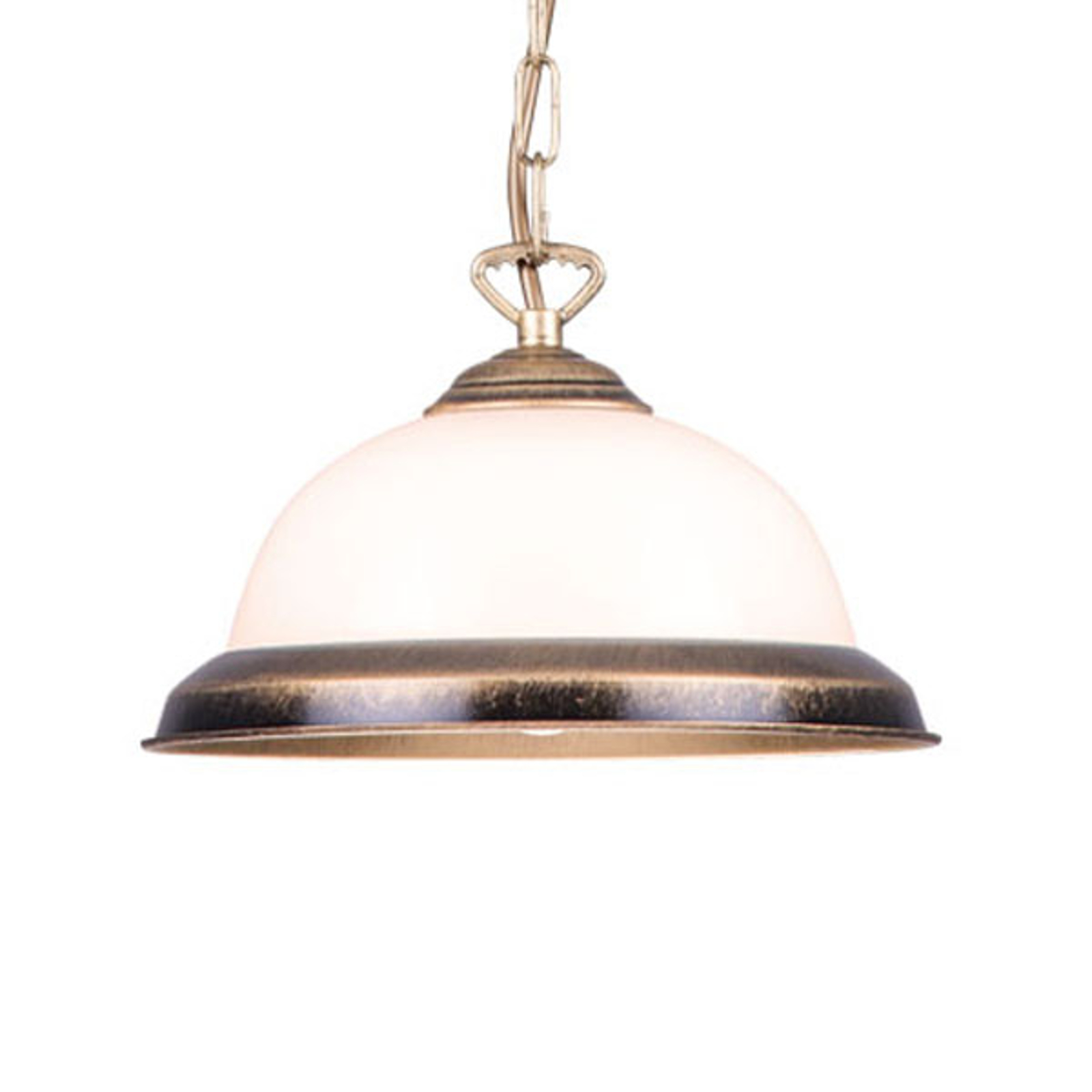 Torio hængelampe, 1 lyskilde, håndmalet