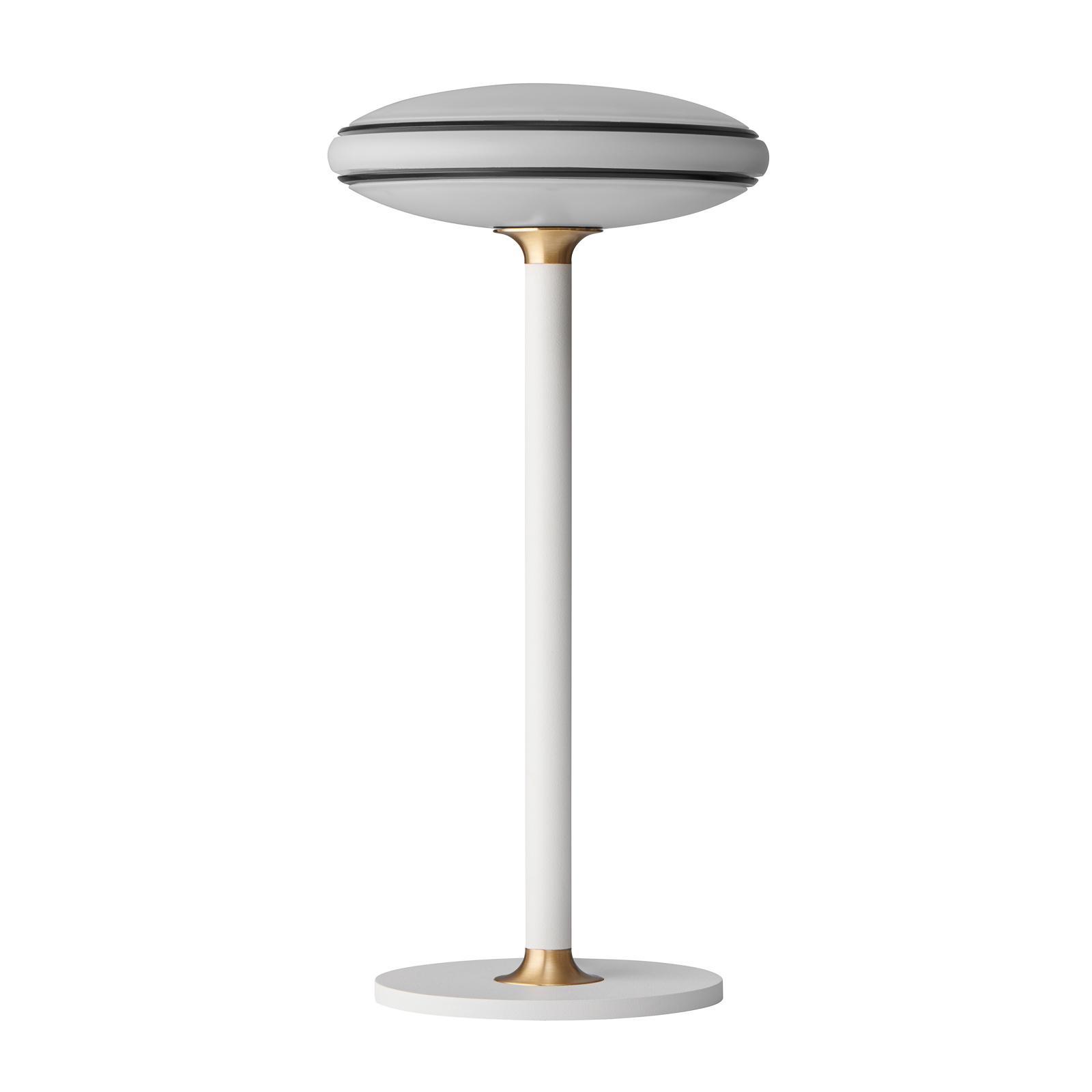 Shade ØS1 LED-bordlampe ringer svart fot hvit