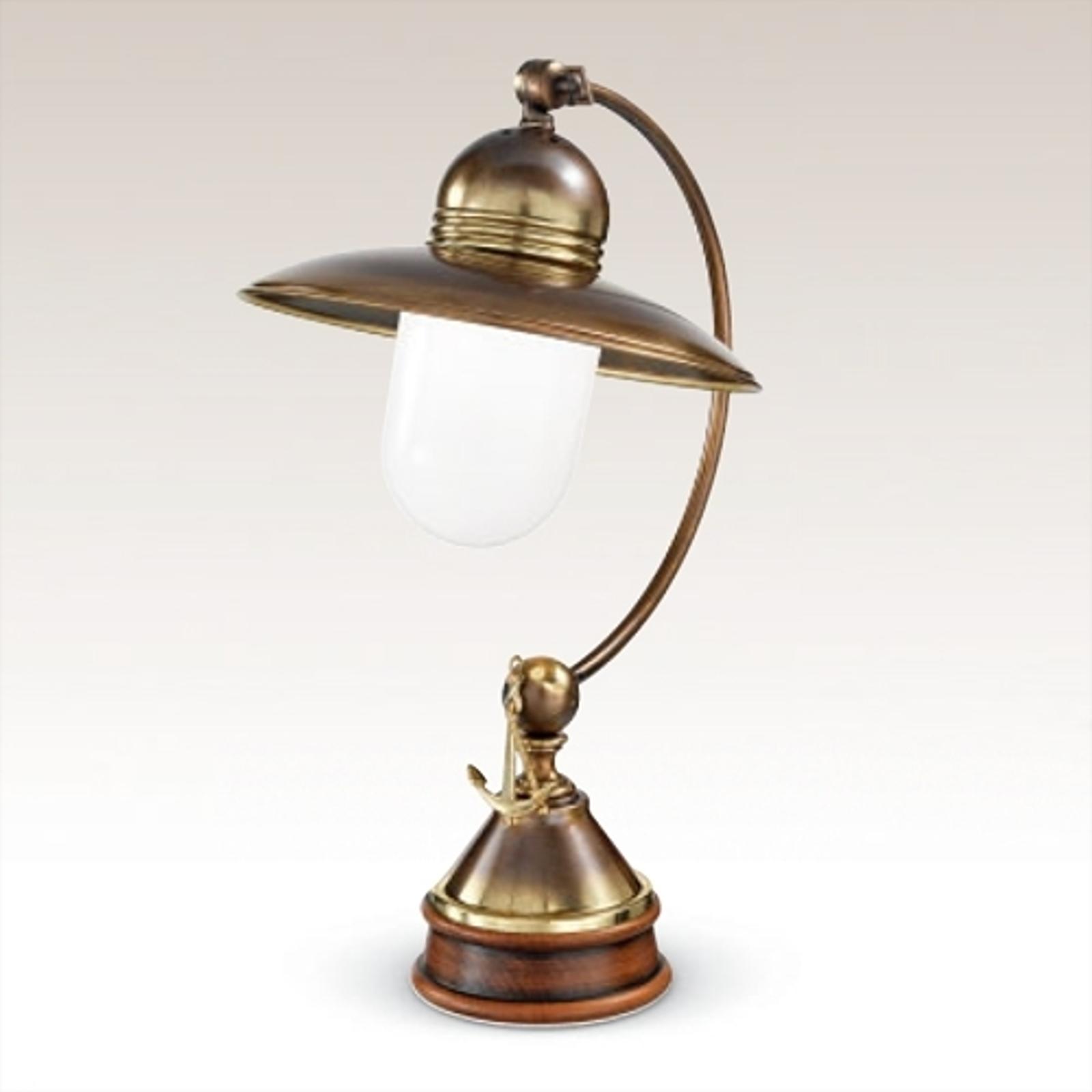 Gustowna lampa stołowa Laguna