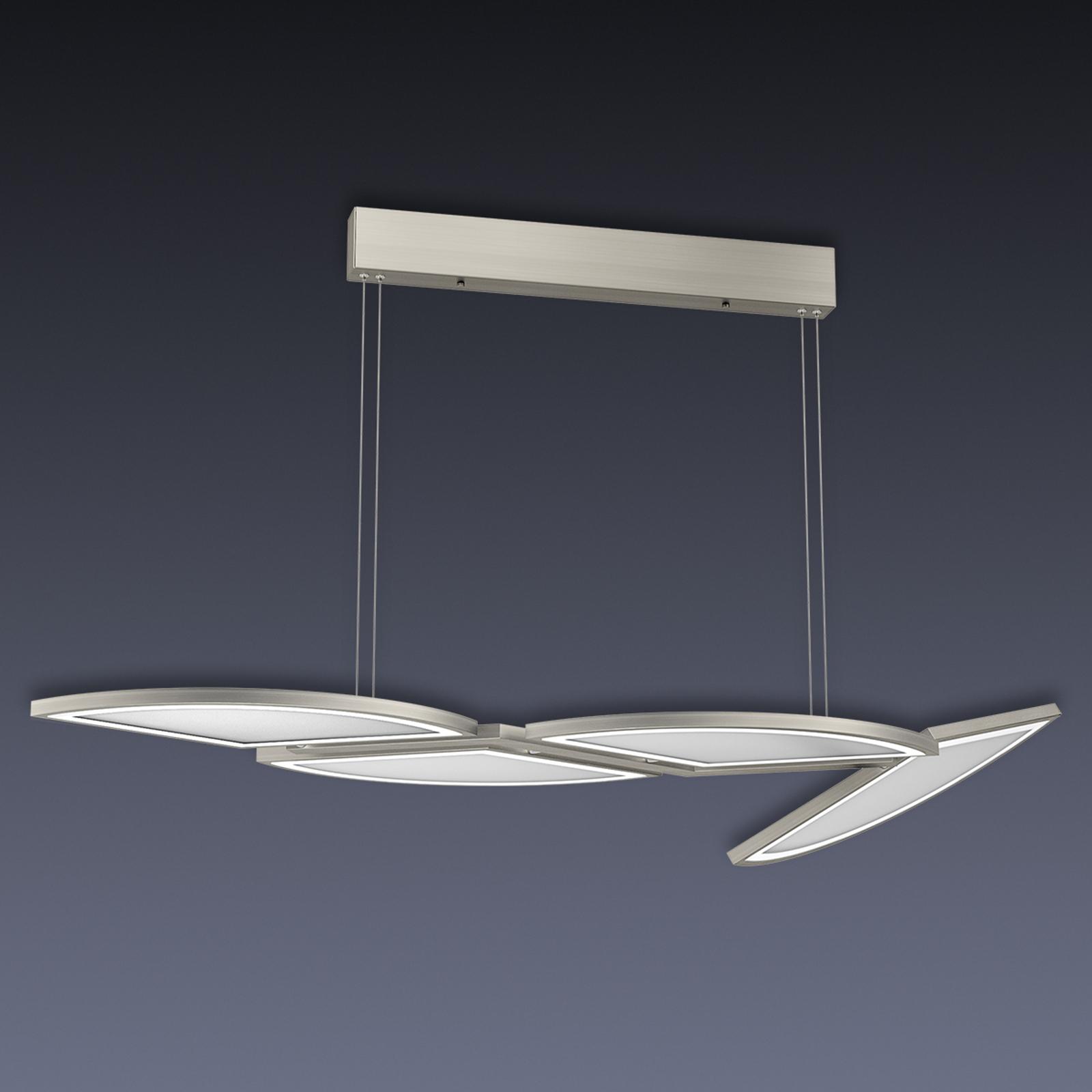 Movil LED-pendellampe med fire lyskilder