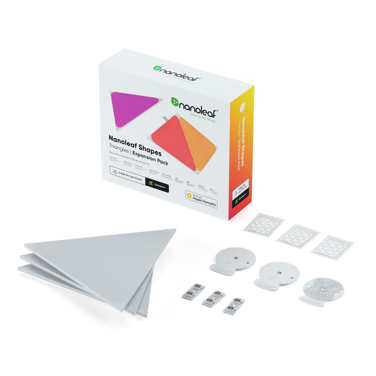 Nanoleaf Shapes Triangles Erweiterungsset 3 Panels