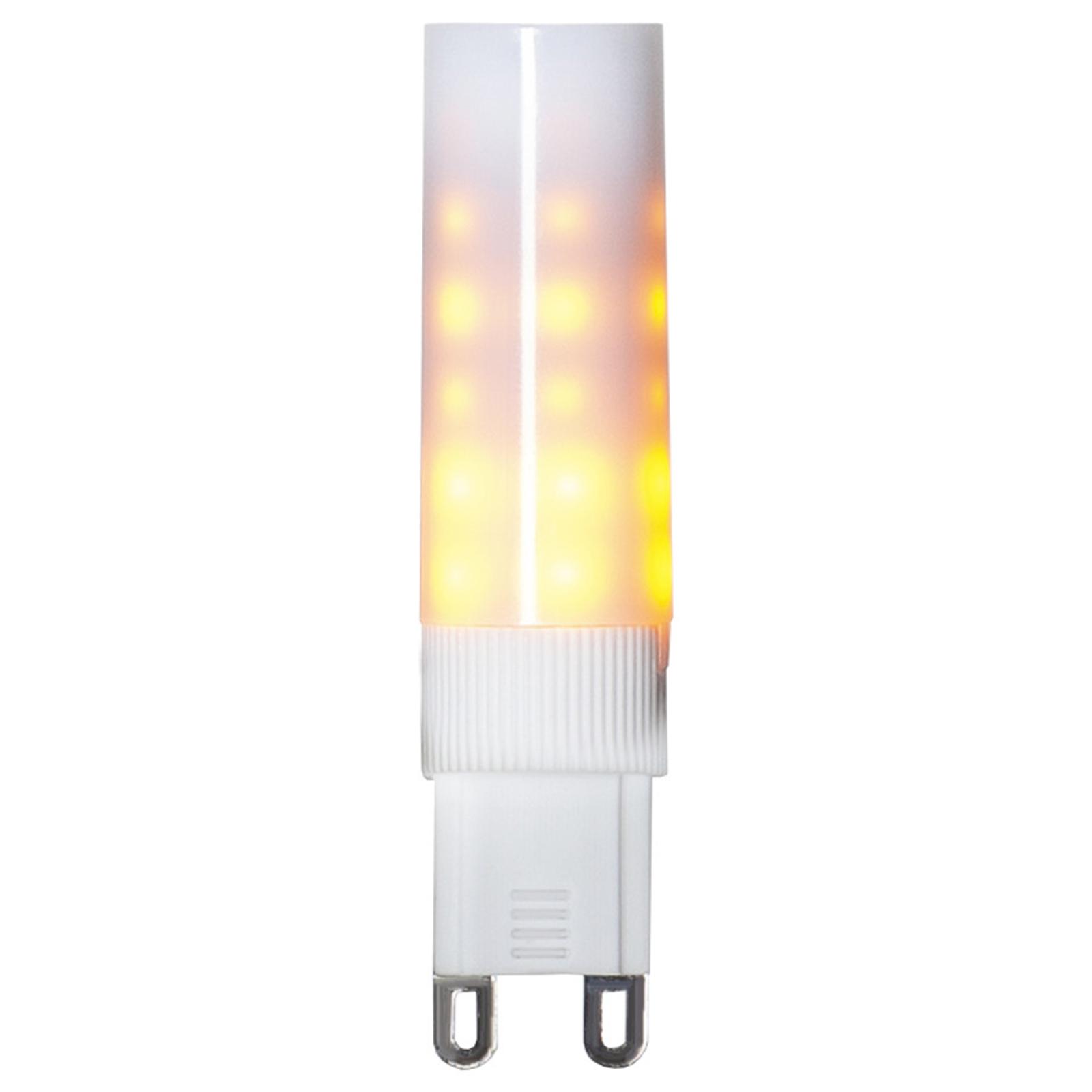 LED-stiftpære G9 1200 K Flame