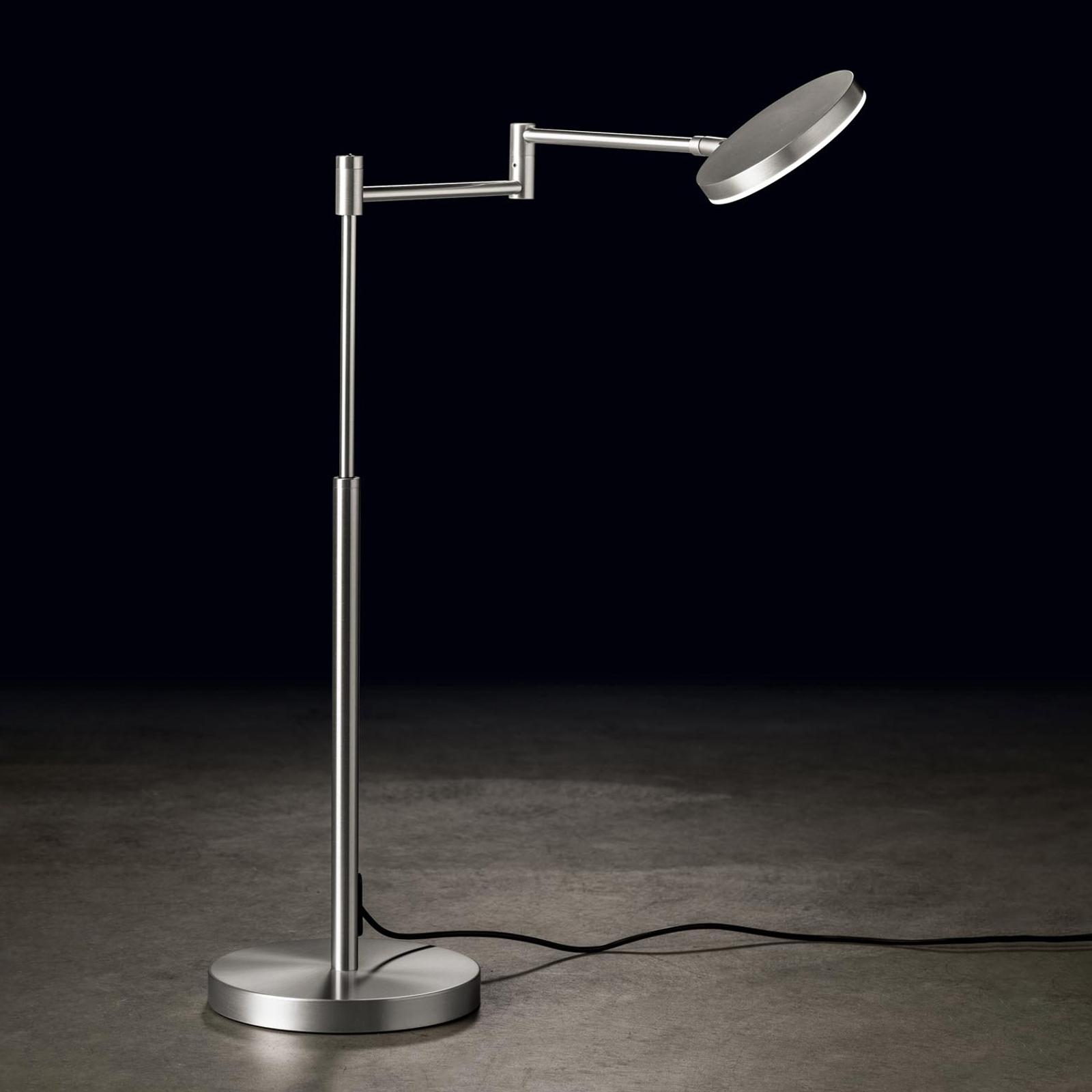 Holtkötter Plano T LED-Tischlampe alu matt