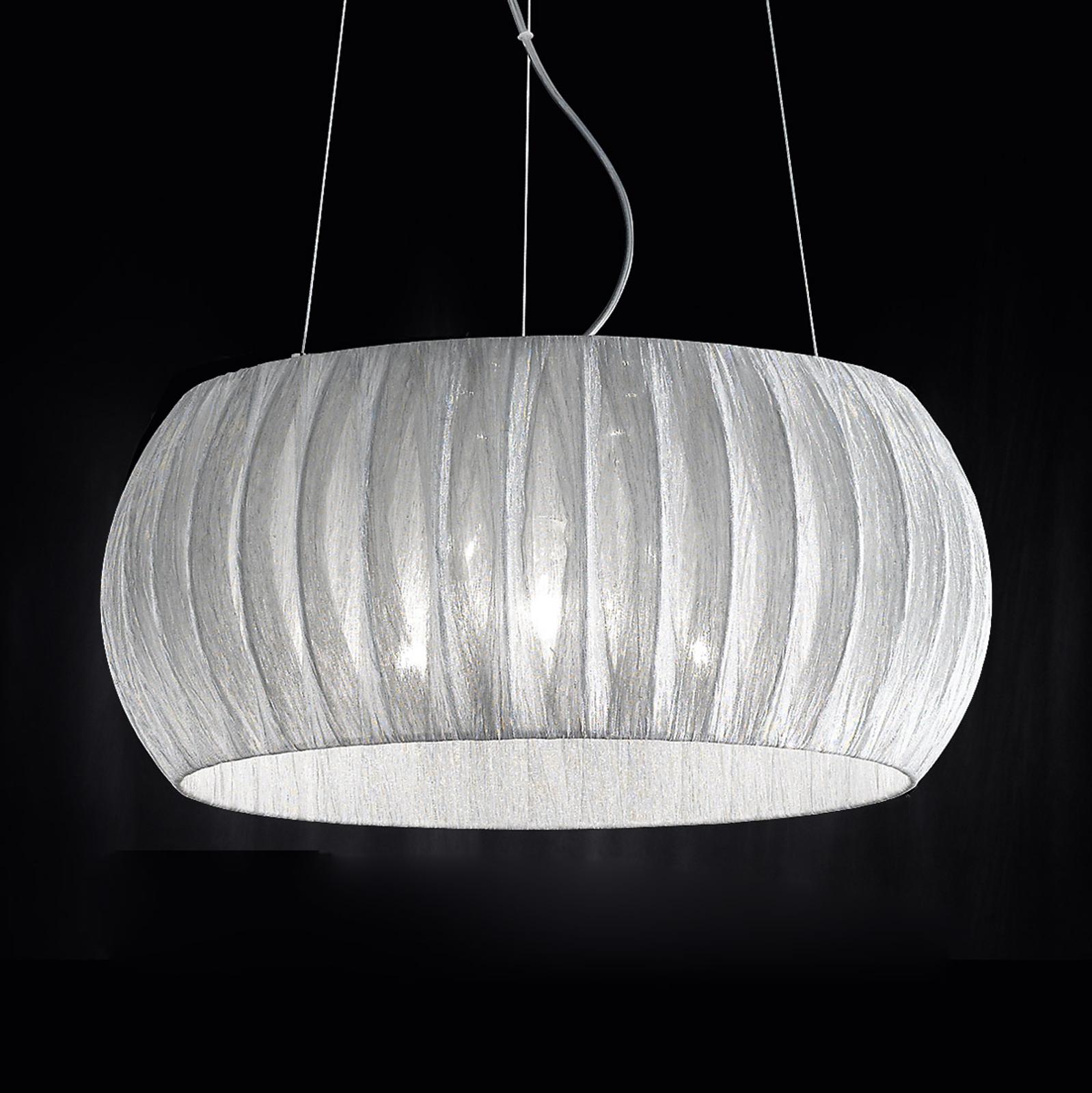 Fascynująca tekstylna lampa wisząca Amaru, 45cm