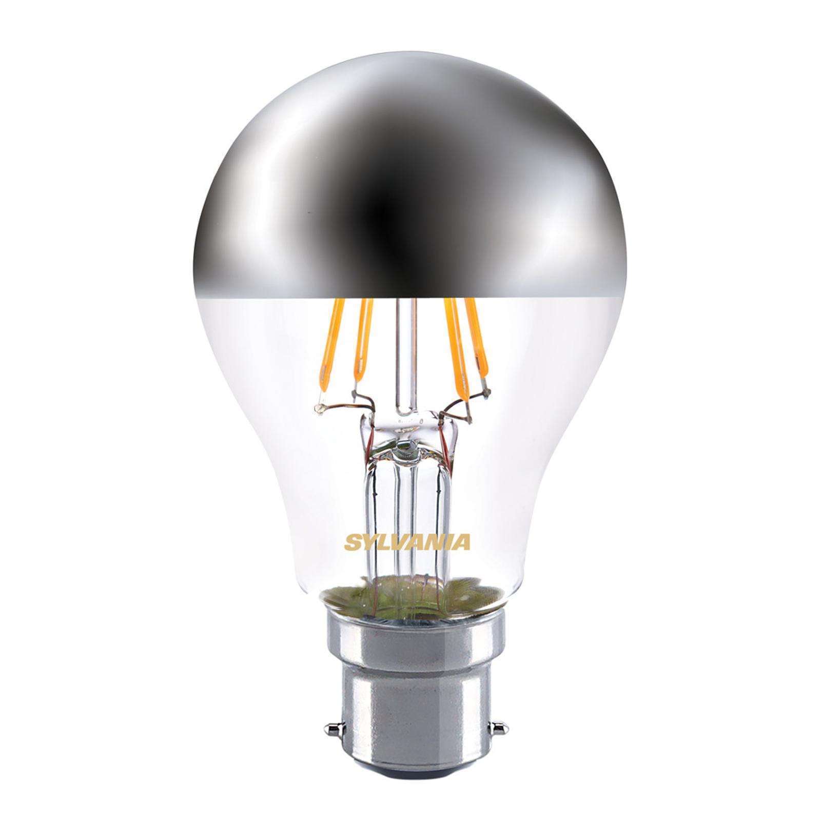 Lampadina LED con testa specchiata 827 B22 4W