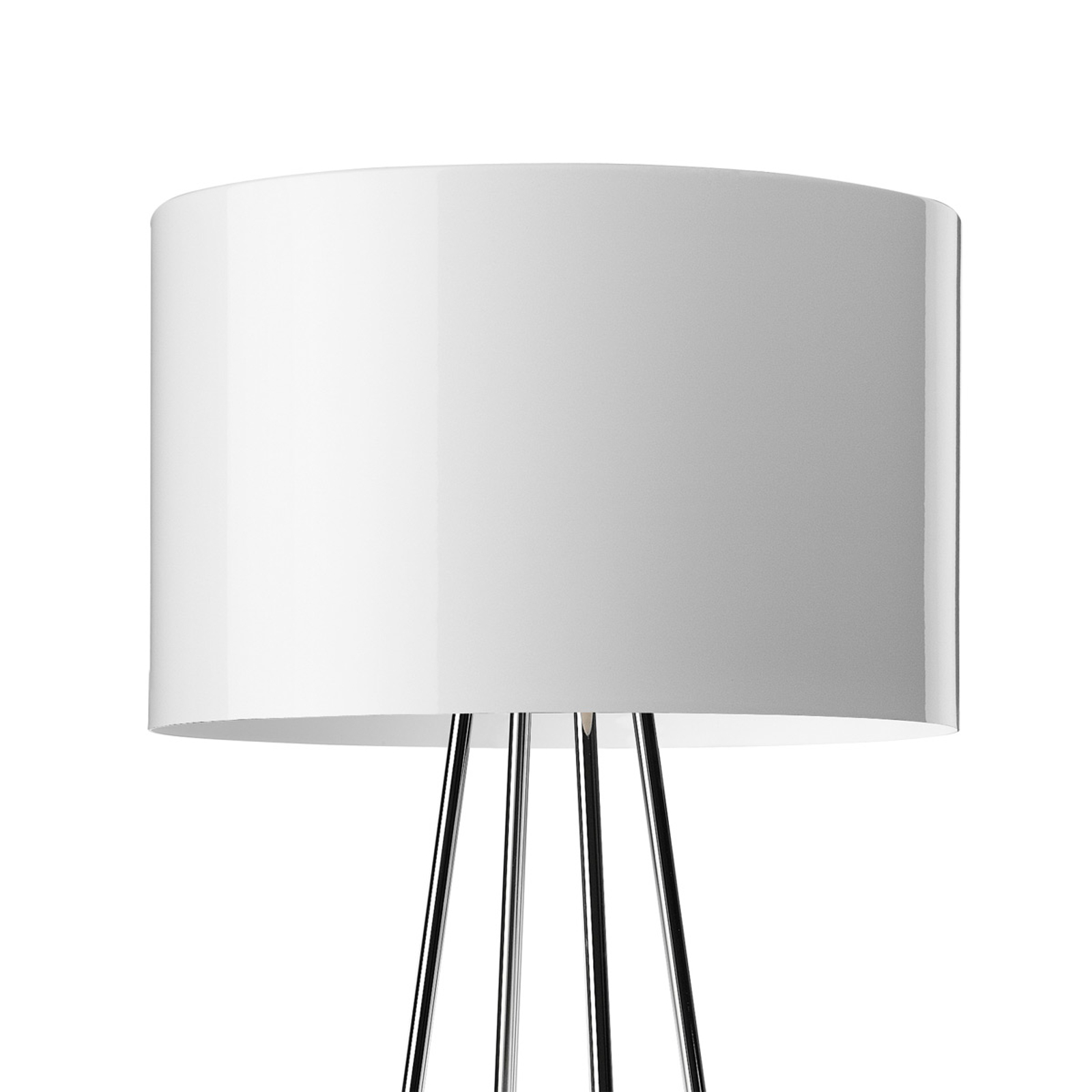 FLOS Ray F1 – stojaca lampa biela
