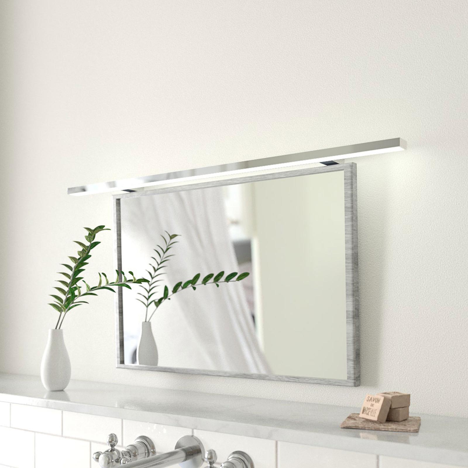100 cm bred LED-spejllampe Esther