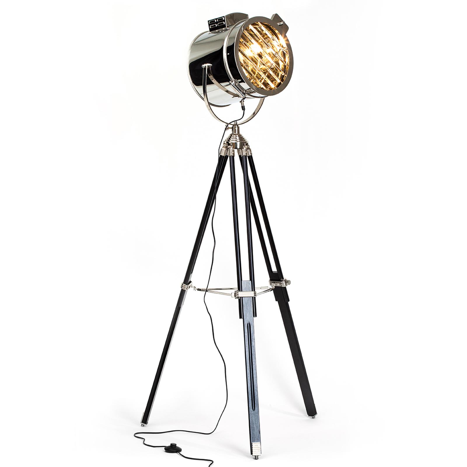 Cine stojaca lampa v dizajne reflektora