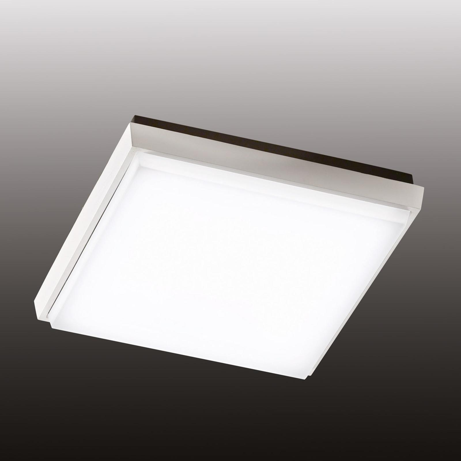 Kwadratowa lampa sufitowa zewnętrzna LED Desdy