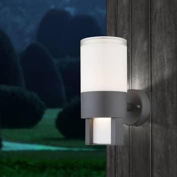 Nexa udendørs LED-væglampe, antracit/opal