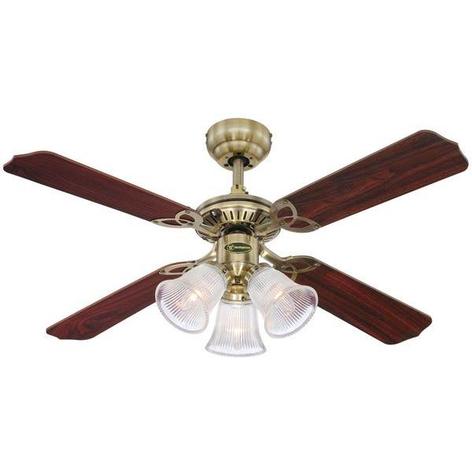 Ventilatore da soffitto Princess Trio - con luce