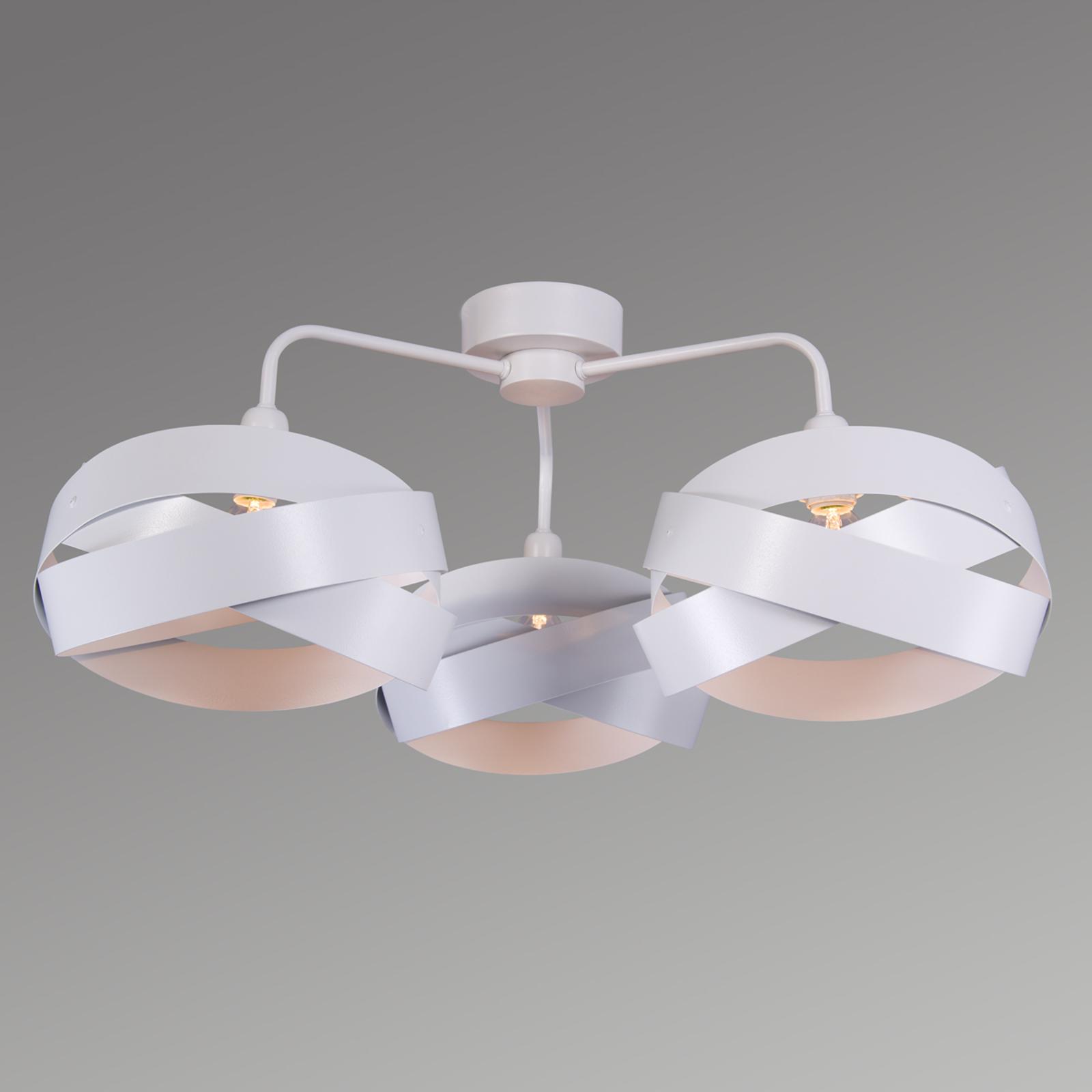 Trendy plafondlamp Tornado met drie kappen