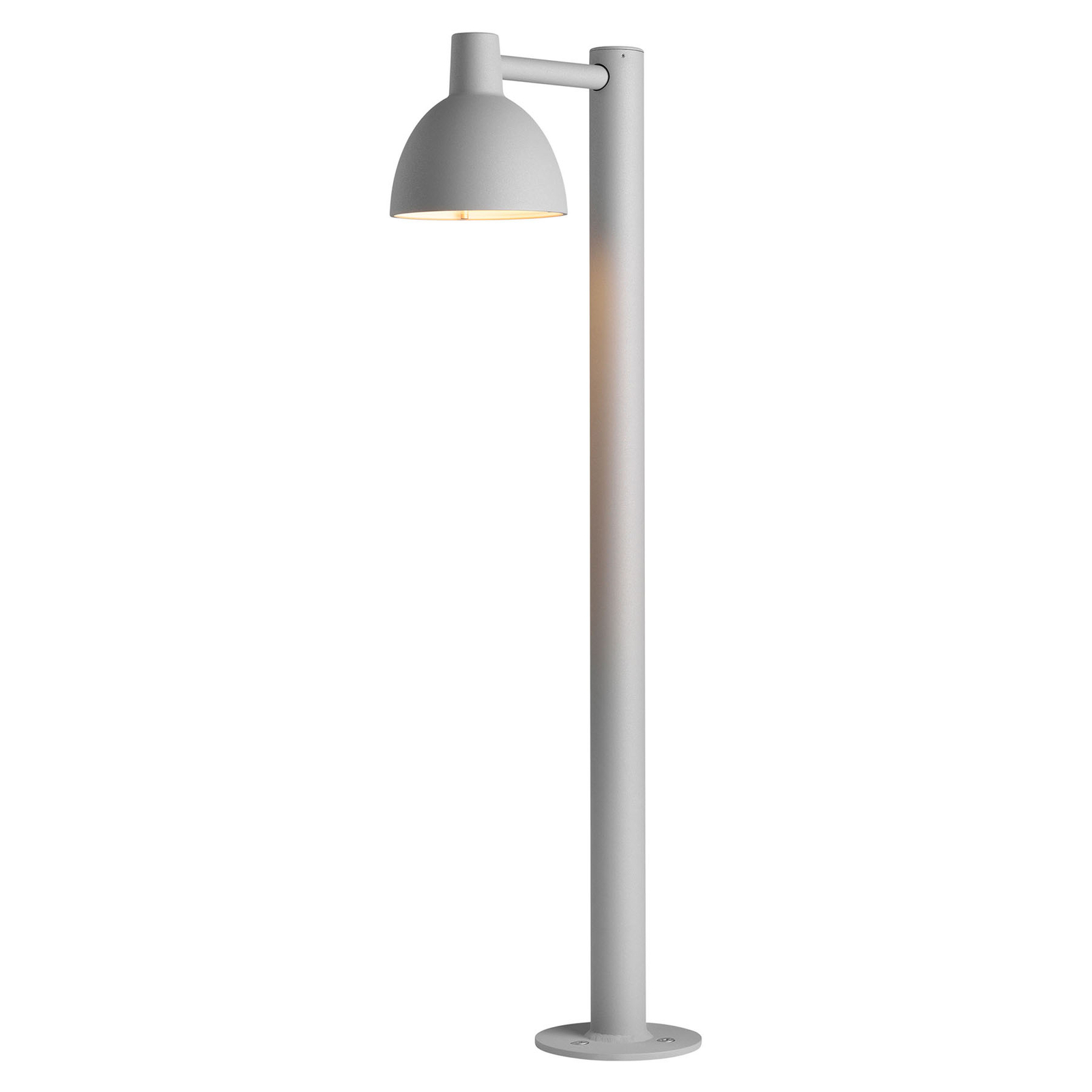 Louis Poulsen Toldbod gånglampa, aluminium