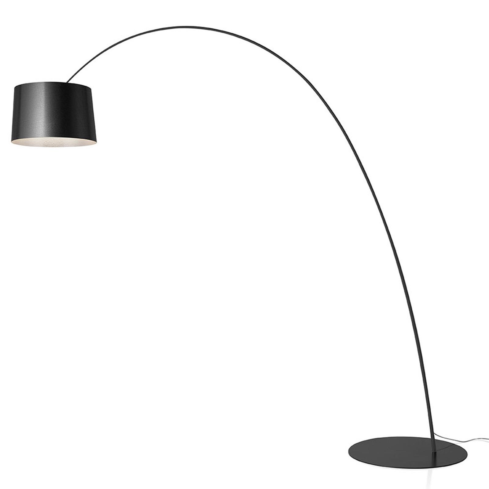 Foscarini Twiggy LED-golvlampa, grafit