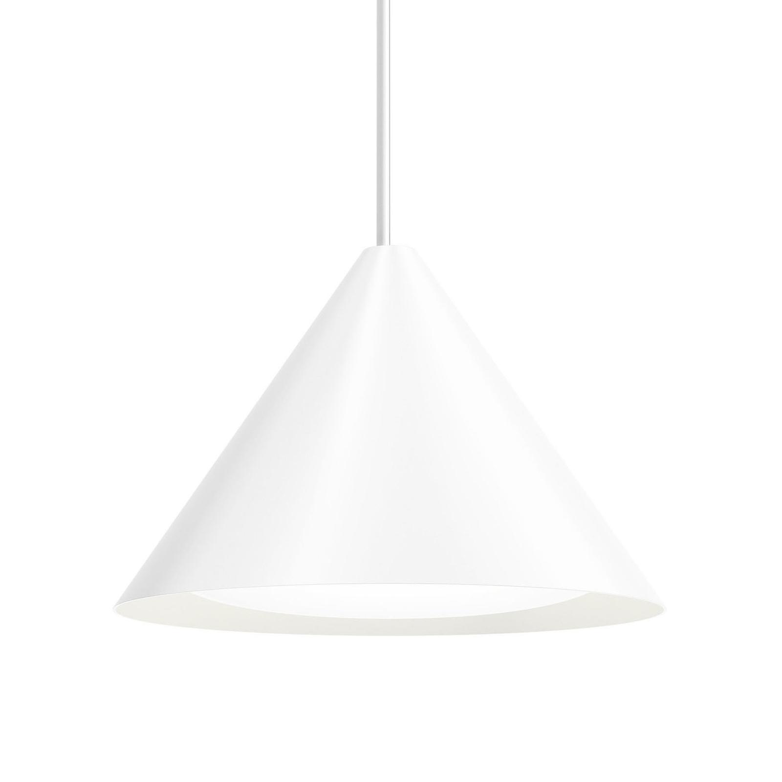 Louis Poulsen Keglen LED sospensione 40cm bianco