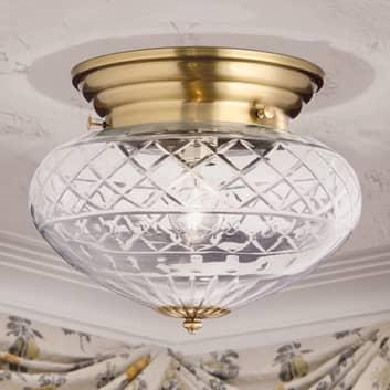 Lámpara de techo pulida a mano ENNA, Ø 31 cm