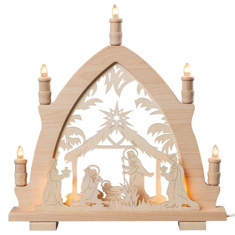 Pyramide de lumières Nativité