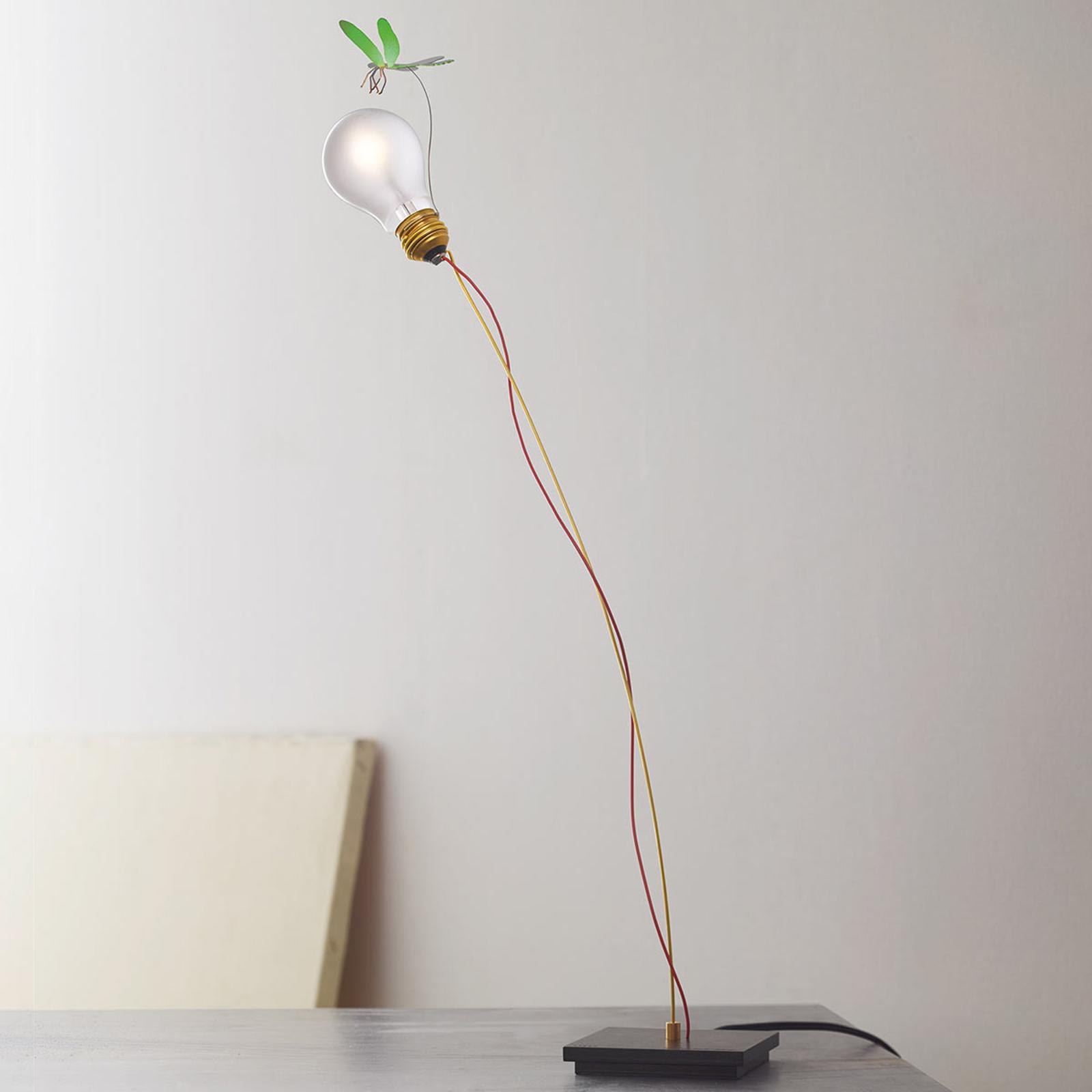 Tafellamp I Ricchi Poveri Bzzzz - groene libel