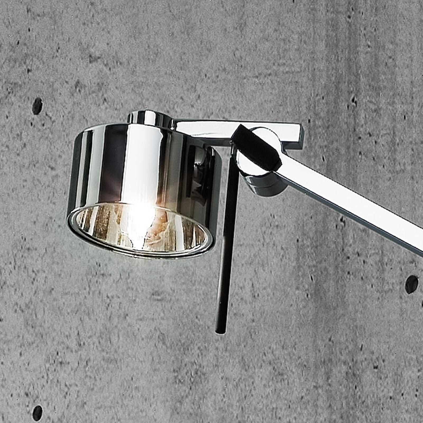 Verchroomde vloerlamp AX20 met dimmer
