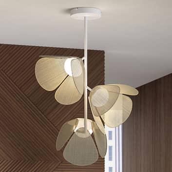Bover Mod PF/73/3L LED-loftlampe, naturfibre