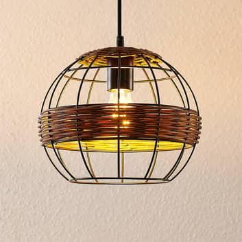 Lindby Kaska -riippuvalo, 1-lamppuinen, 25 cm