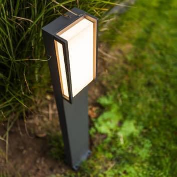 Słupek oświetleniowy LED Qubo, RGBW inteligentny