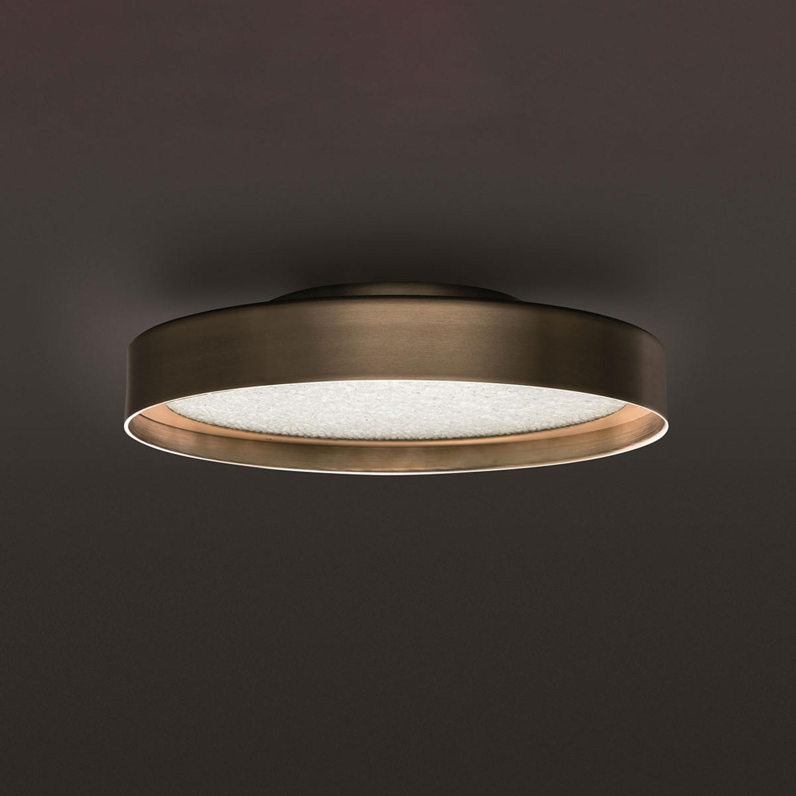 Oluce Berlin lampa sufitowa, średnica 30 cm