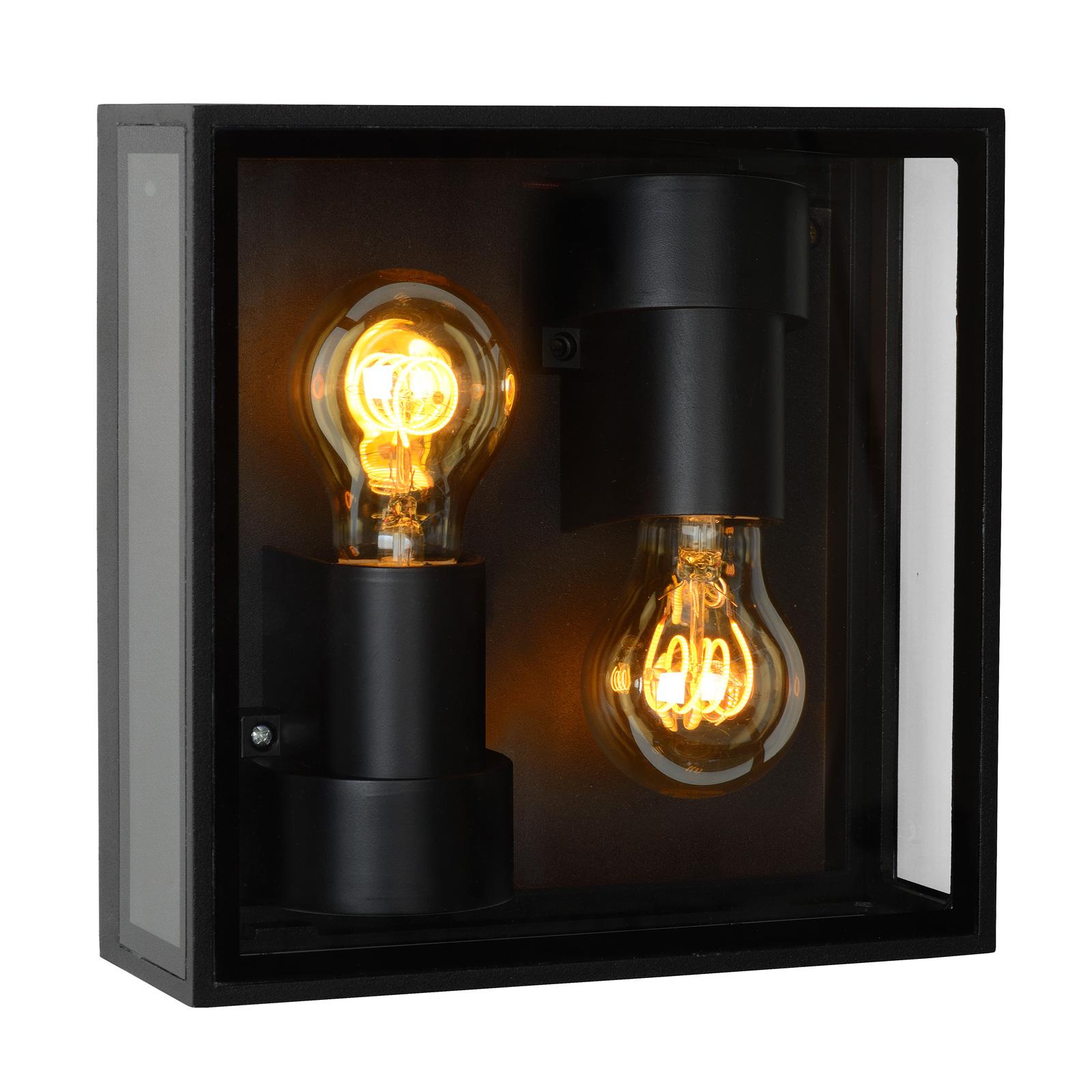 Lampa sufitowa zewnętrzna Dukan IP65, 2-punktowa