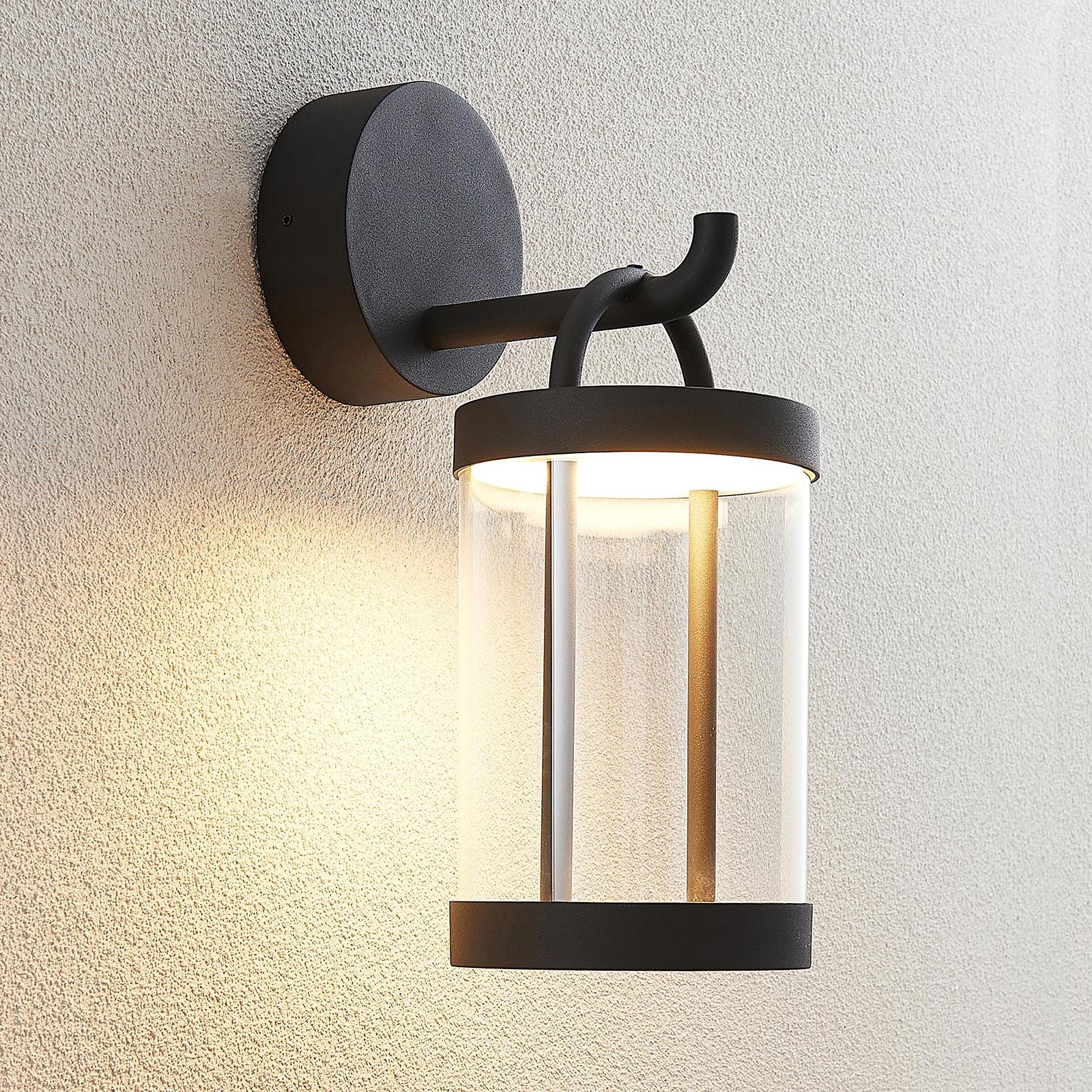 Lucande Caius kinkiet zewnętrzny LED