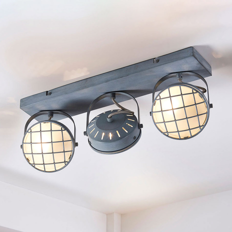 Tamin – lampa sufitowa LED, styl industrialny