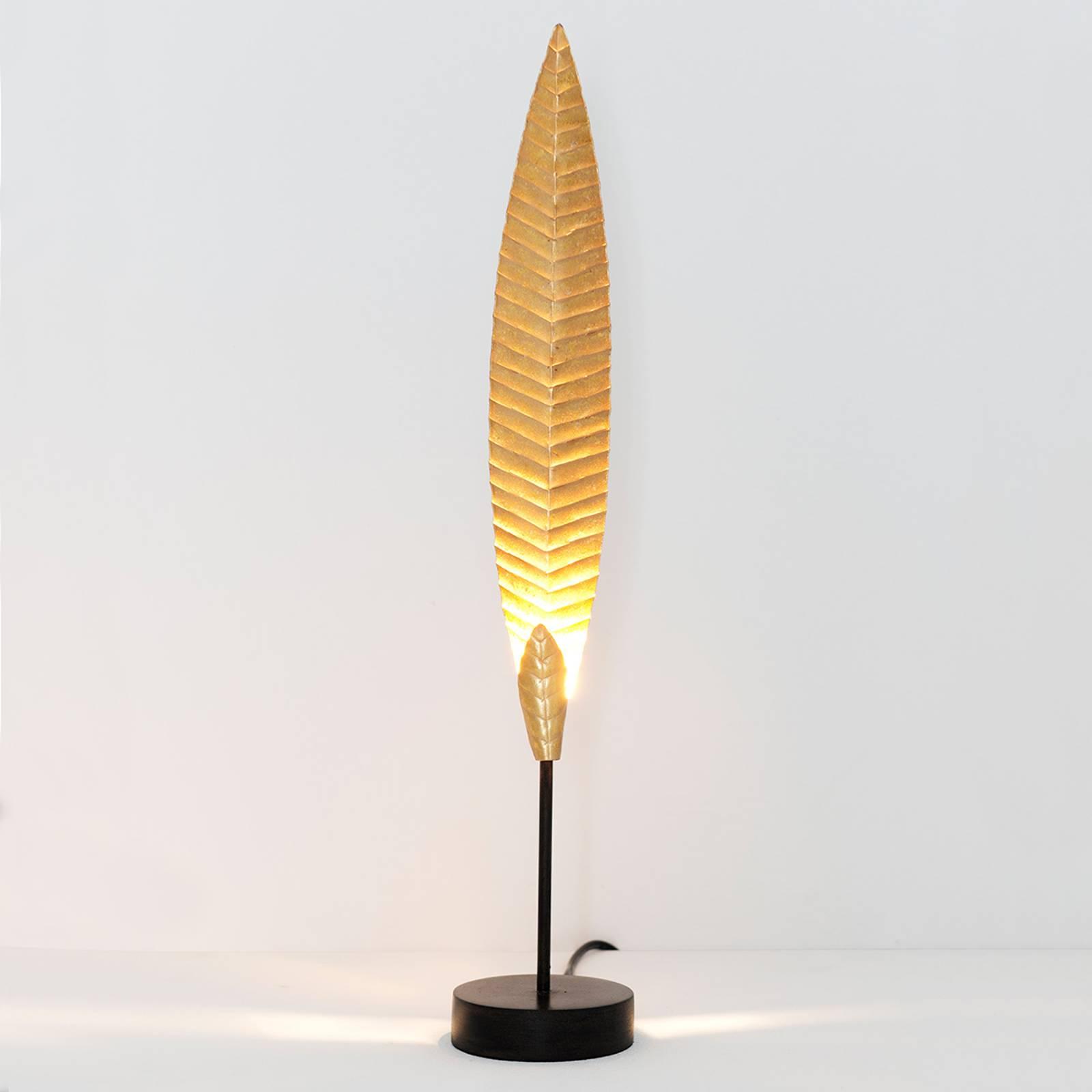 Tafellamp Penna goud hoogte 51 cm