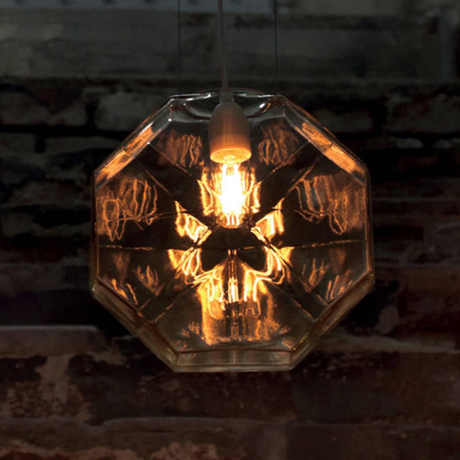 Karman 24 Karati lampa wisząca ośmiokątna żółta