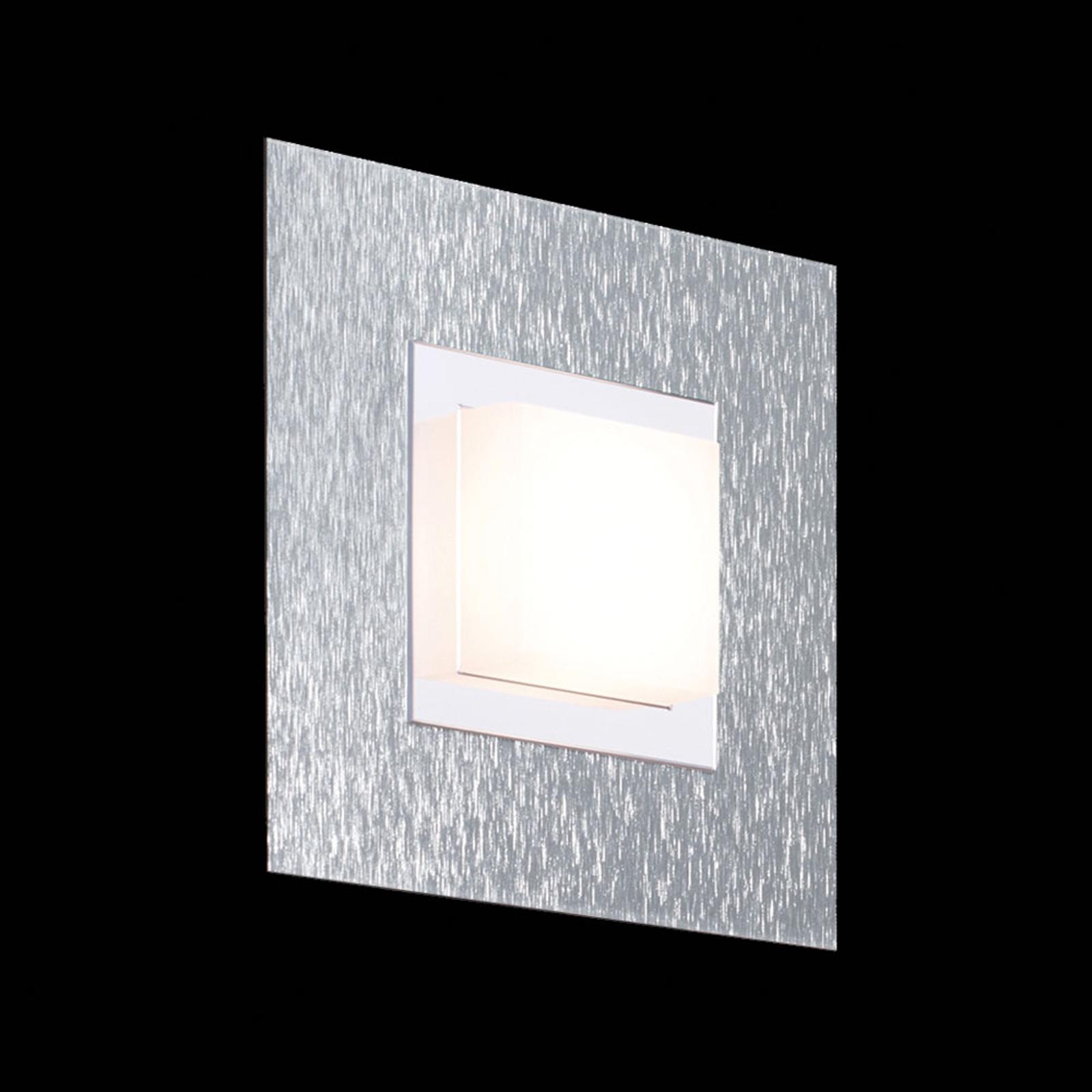 GROSSMANN Basic Wandleuchte, einflammig, aluminium