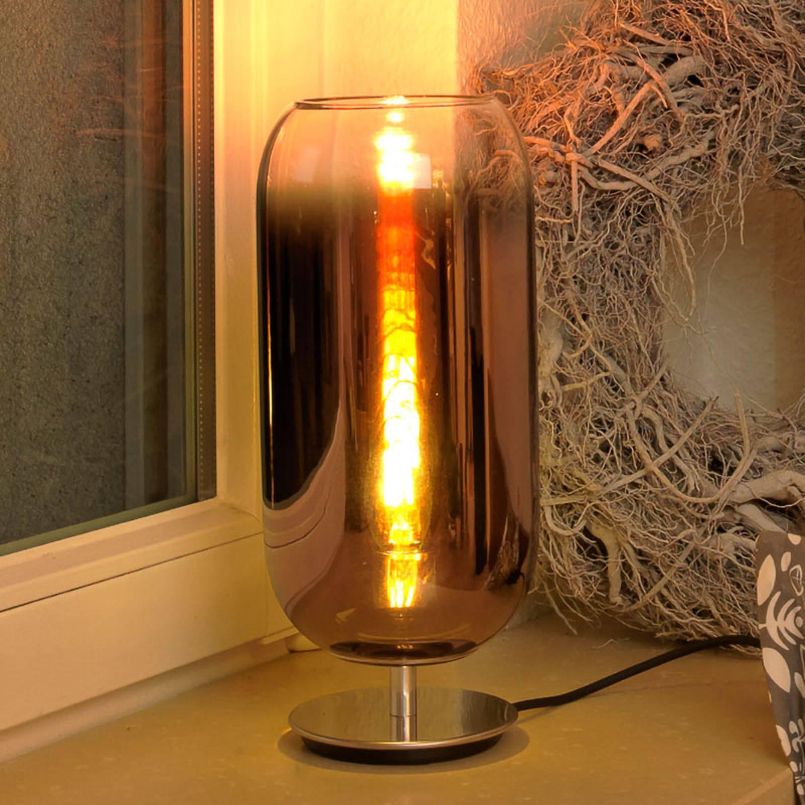 Artemide Gople Mini lampada da tavolo rame