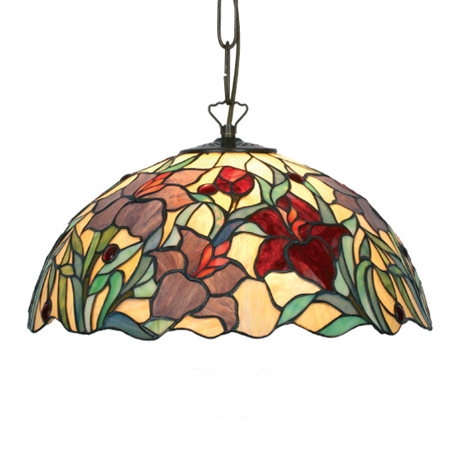 Piękna lampa wisząca Athina w stylu Tiffany