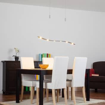 Høyderegulerbar LED-hengelampe Xalu 120 cm