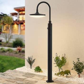 Arcchio Fineria LED-gånglampa aluminium