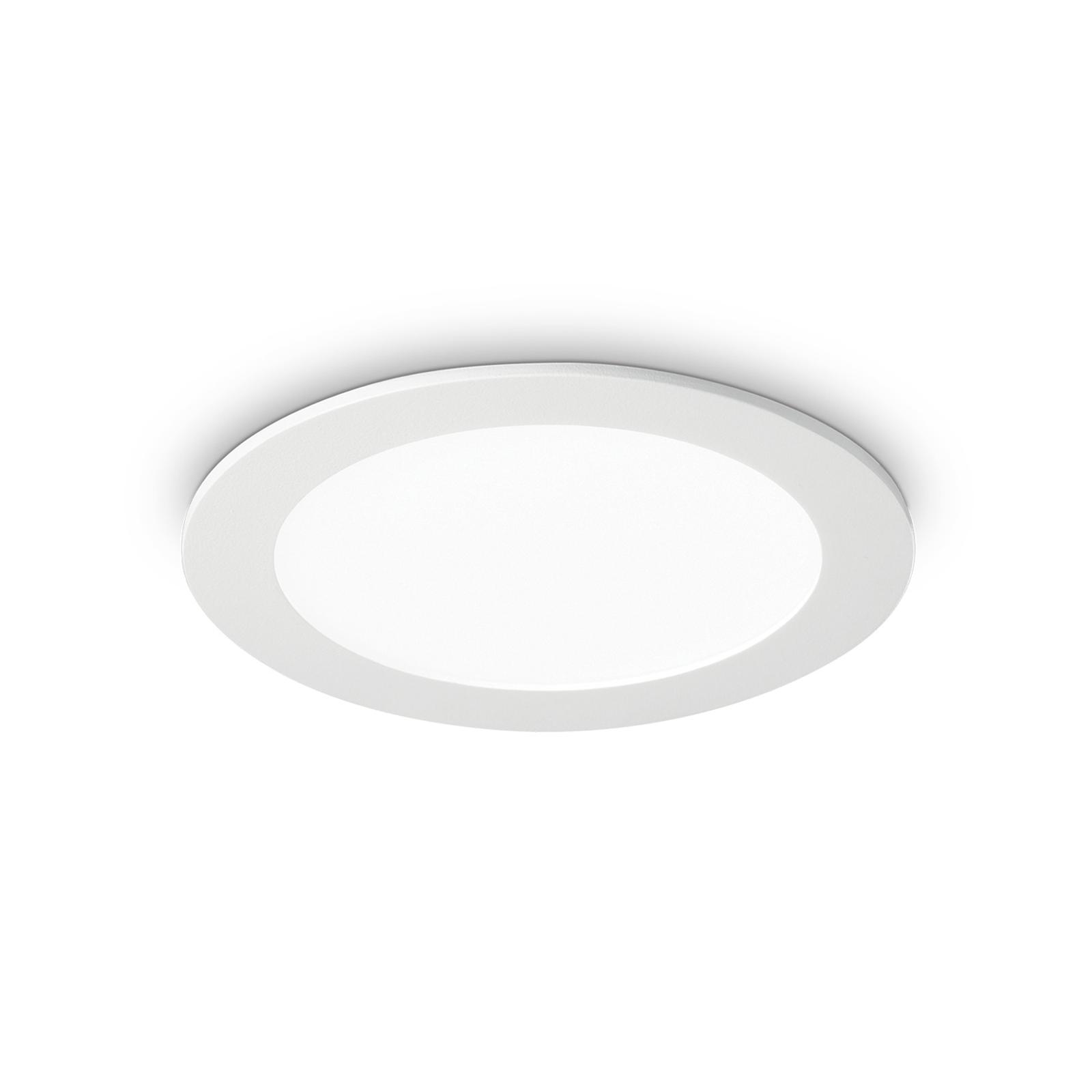 LED-takinbyggnadslampa Groove rund 3 000 K 11,8 cm